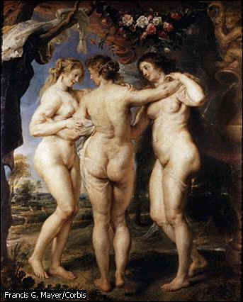 Rubens, les 3 grâces